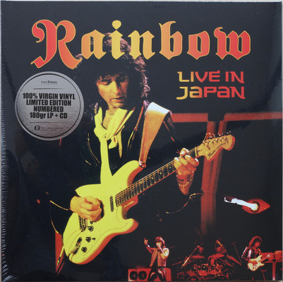 CD Shop - RAINBOW LIVE IN JAPAN LTD.