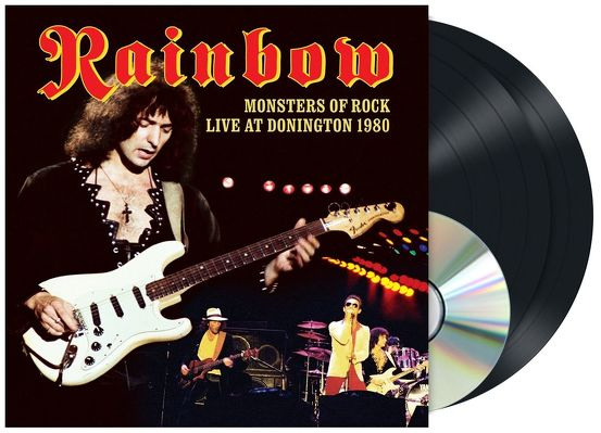 CD Shop - RAINBOW MONSTERS OF ROCK LIVE IN DONNI