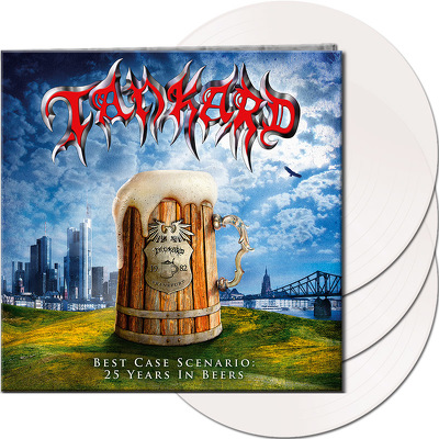 CD Shop - TANKARD BEST CASE SCENARIO WHITE LTD.