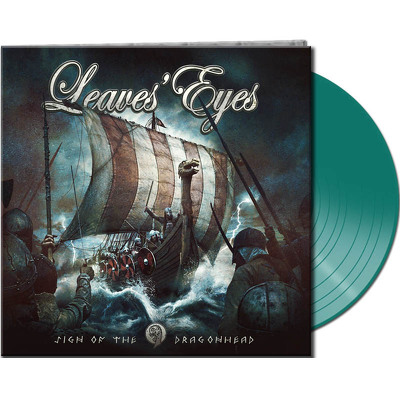 CD Shop - LEAVES EYES SIGN OF THE DRAGON GREEN L