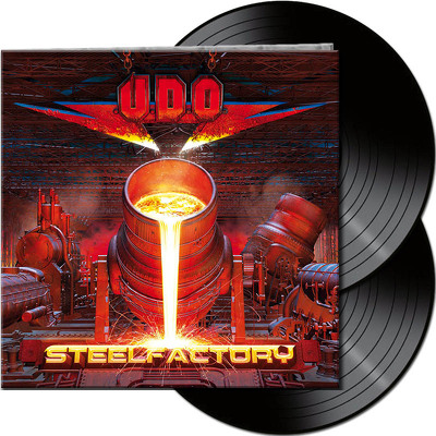 CD Shop - U.D.O. STEELFACTORY BLACK LTD.