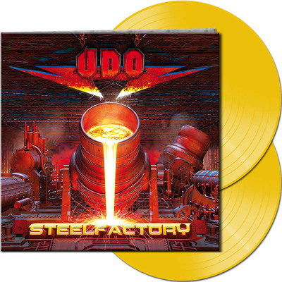 CD Shop - U.D.O. STEELFACTORY YELLOW LTD.