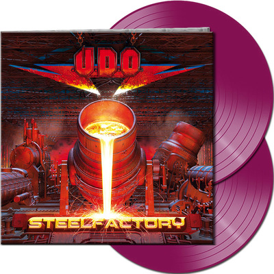 CD Shop - U.D.O. STEELFACTORY VIOLET LTD.