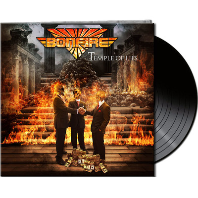 CD Shop - BONFIRE TEMPLE OF LIES BLACK LTD.