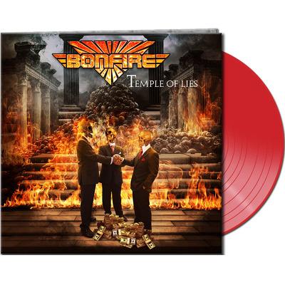 CD Shop - BONFIRE TEMPLE OF LIES RED LTD.