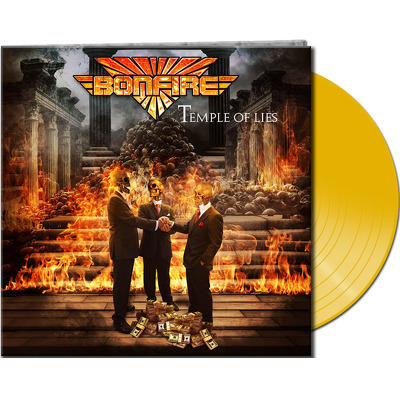 CD Shop - BONFIRE TEMPLE OF LIES YELLOW LTD.