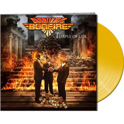 CD Shop - BONFIRE TEMPLE OF LIES YELLOW LTD.