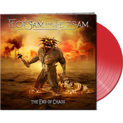 CD Shop - FLOTSAM & JETSAM THE END OF CHAOS RED