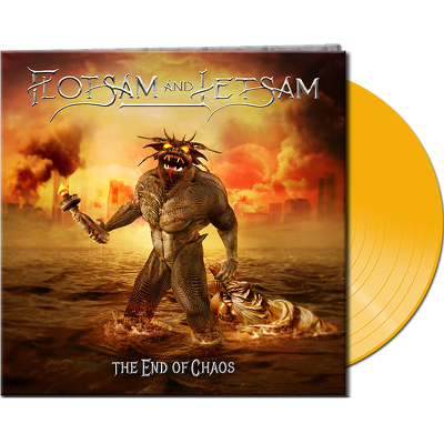 CD Shop - FLOTSAM & JETSAM THE END OF CHAOS YELL
