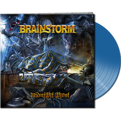 CD Shop - BRAINSTORM MIDNIGHT GHOST BLUE LTD.
