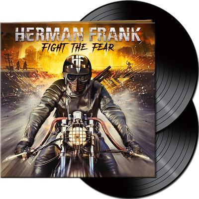CD Shop - HERMAN FRANK FIGHT THE FEAR BLACK LTD.
