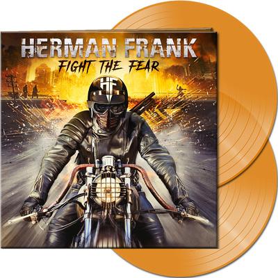 CD Shop - HERMAN FRANK FIGHT THE FEAR ORANGE LTD