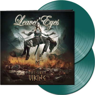 CD Shop - LEAVES EYES THE LAST VIKING GREEN LTD.