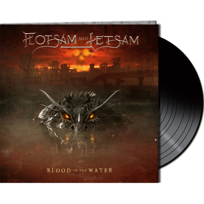 CD Shop - FLOTSAM & JETSAM BLOOD IN THE WATER BLACK LTD.