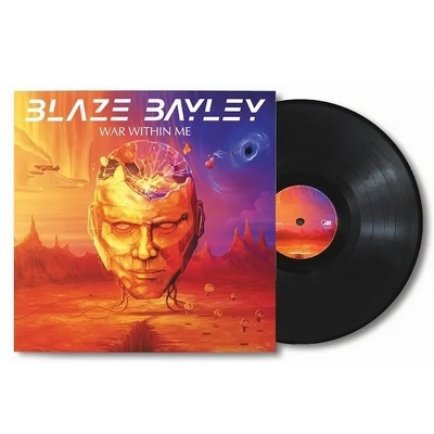 CD Shop - BLAZE BAYLEY WAR WITHIN ME LTD.