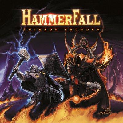 CD Shop - HAMMERFALL CRIMSON THUNDER LTD.