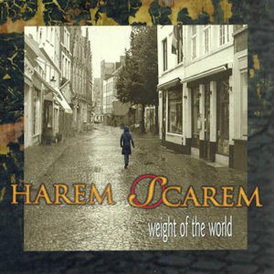 CD Shop - HAREM SCAREM WEIGHT OF THE WORLD LTD.
