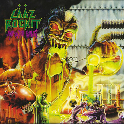CD Shop - LAAZ ROCKIT ANNIHILATION PRINCIPLE LTD