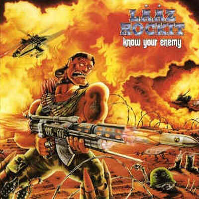 CD Shop - LAAZ ROCKIT KNOW YOUR ENEMY LTD.
