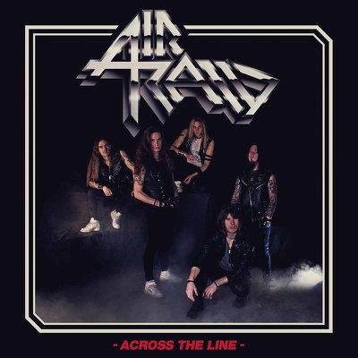 CD Shop - AIR RAID ACROSS THE LINE LTD.