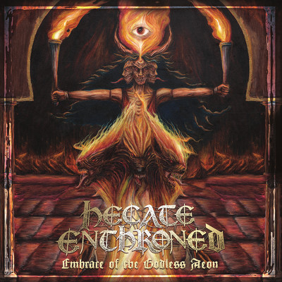 CD Shop - HECATE ENTHRONED EMBRACE OF THE GODLES