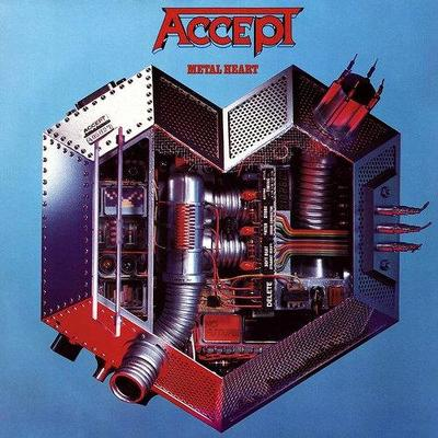 CD Shop - ACCEPT METAL HEART -COLOURED-