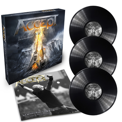 CD Shop - ACCEPT SYMPHONIC TERROR
