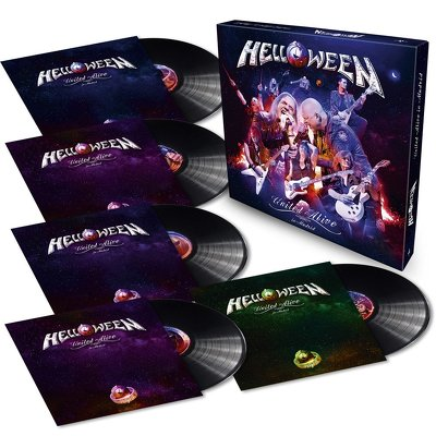 CD Shop - HELLOWEEN UNITED ALIVE IN MADRID LTD.