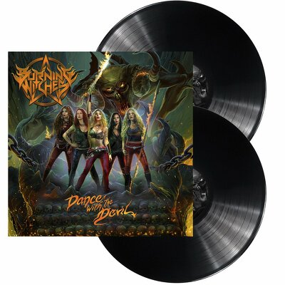 CD Shop - BURNING WITCHES DANCE WITH THE DEVIL