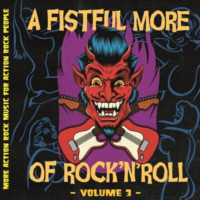 CD Shop - V/A A FISTFUL MORE OF ROCK