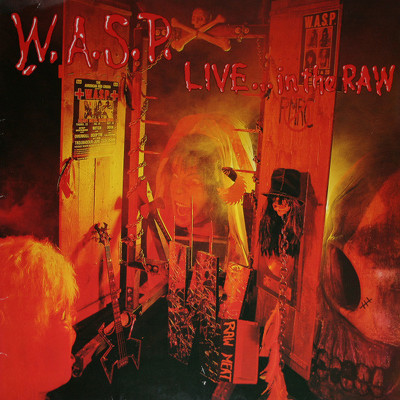 CD Shop - W.A.S.P. LIVE...IN THE RAW LTD.