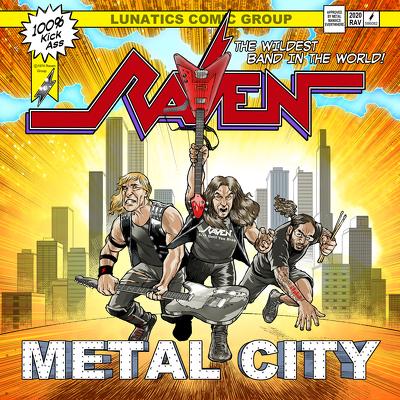 CD Shop - RAVEN METAL CITY PURPLE LTD.