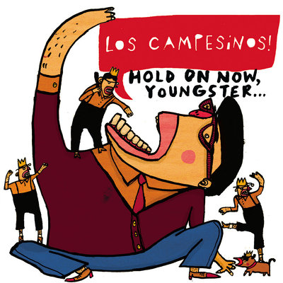 CD Shop - LOS CAMPESINOS! HOLD ON NOW, YOUNGSTER