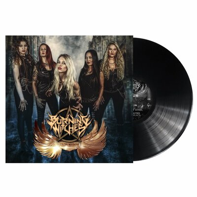 CD Shop - BURNING WITCHES WINGS OF STEEL