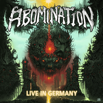 CD Shop - ABOMINATION LIVE IN GERMANY LTD.