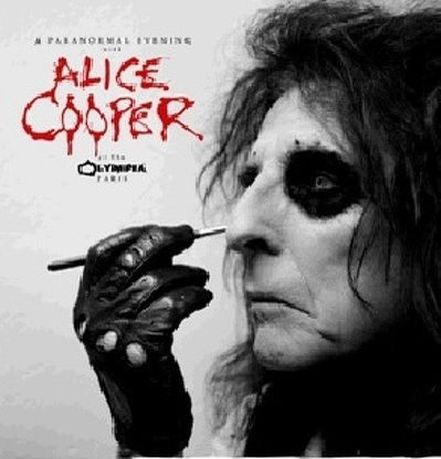 CD Shop - ALICE COOPER A PARANORMAL EVENING AT THE OLYMPIA PARIS LTD.