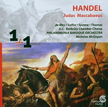 CD Shop - 1+1 HAENDEL, JUDAS MACCABAEUS