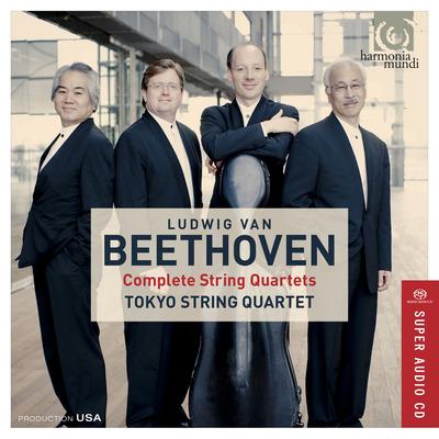 CD Shop - BEETHOVEN, L. VAN COMPLETE STRING QUARTETS