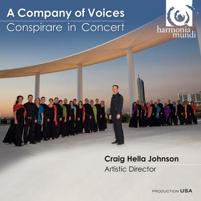 CD Shop - A COMPANY OF VOICES CONSPIRARE