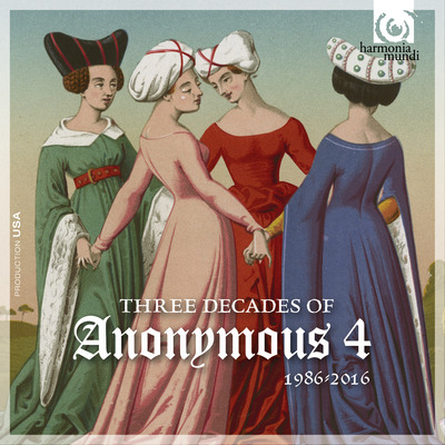 CD Shop - 3 DECADES OF ANONYMOUS 4: 1986 ? 2016