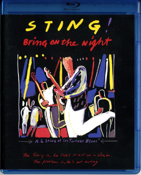 CD Shop - STING BRING ON THE NIGHT