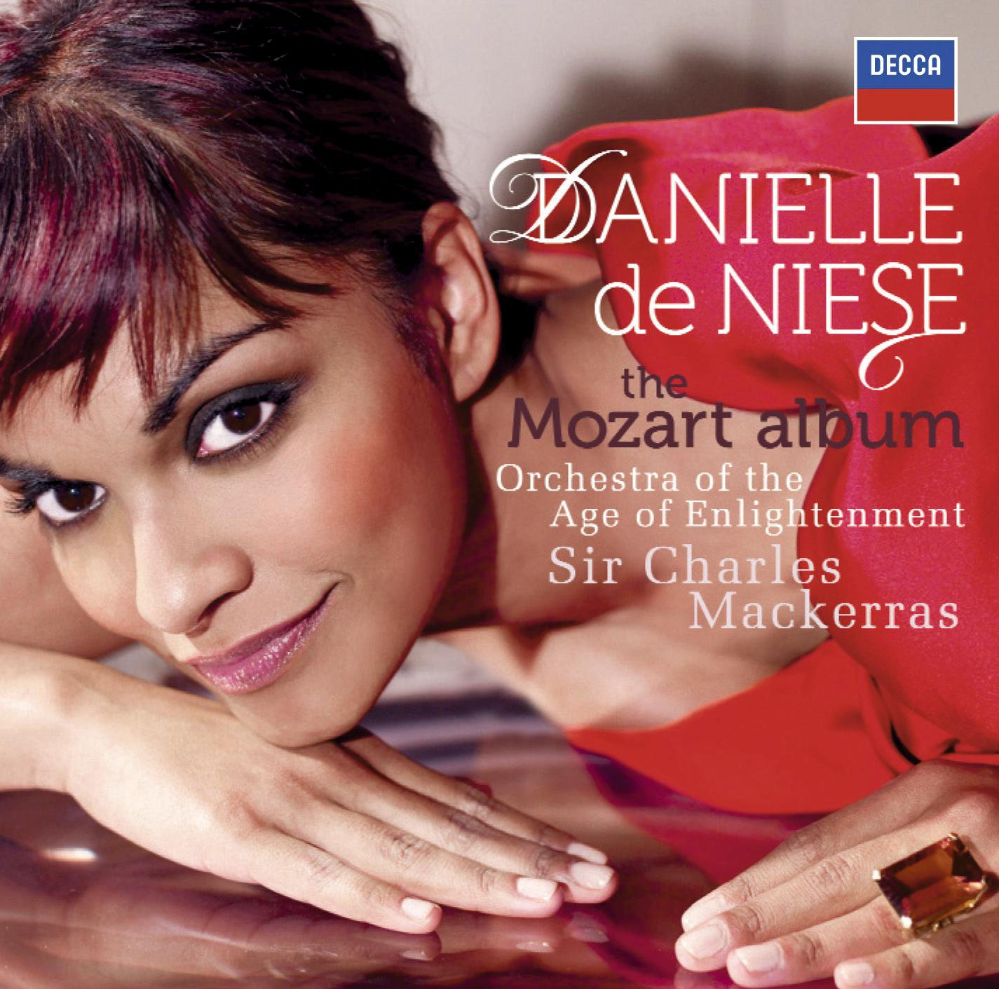 CD Shop - DE NIESE DANIELLE THE MOZART ALBUM