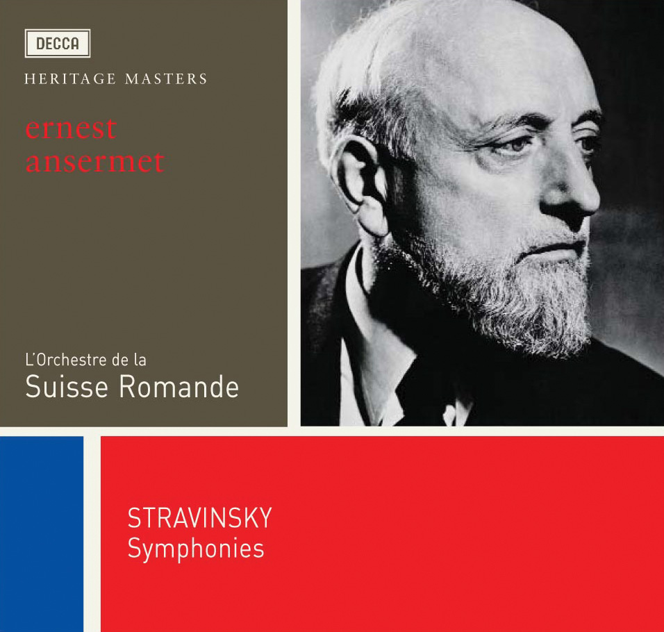 CD Shop - ANSERMET/OSR Stravinskij: Symfonie in C / Symfonie třívětá