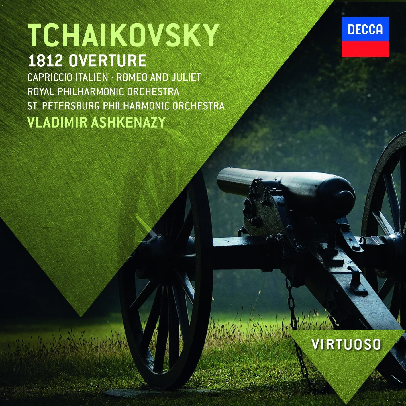 CD Shop - ASHKENAZY/ROYAL PHIL.ORCH. ČAJKOVSKIJ: PŘEDEHRA 1812/ROMEO A JULIE