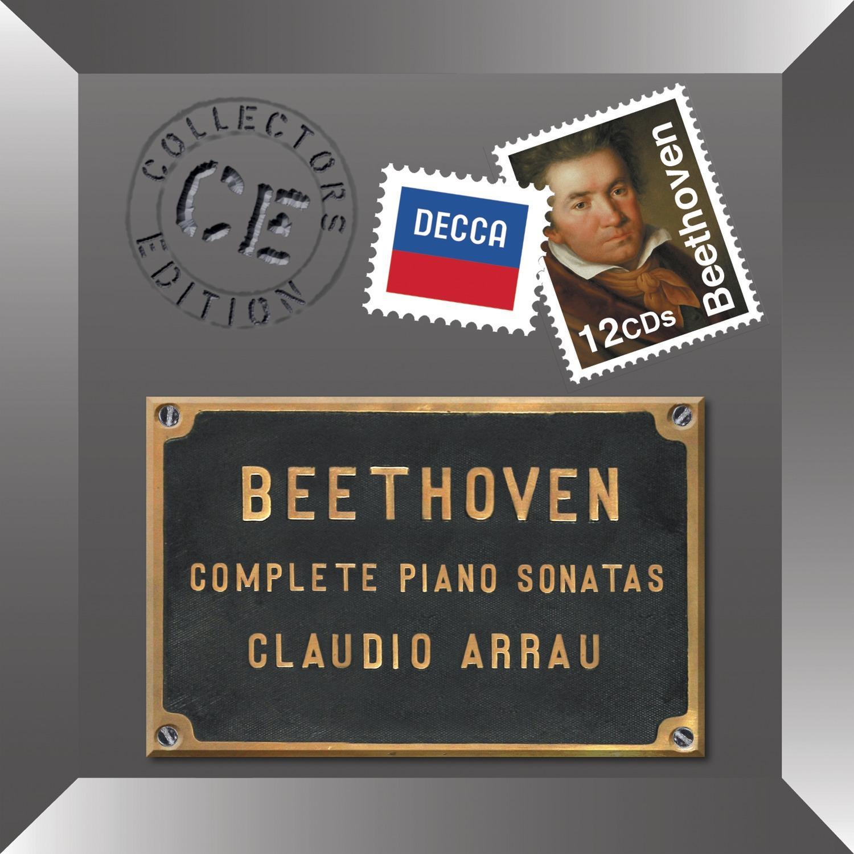 CD Shop - ARRAU CLAUDIO Beethoven: Sonáty pro klavír - komplet