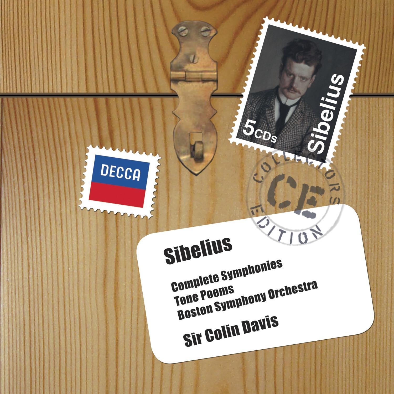 CD Shop - DAVIS/LSO Sibelius: Symfonie - komplet / Symfonické básně / Houslový koncert