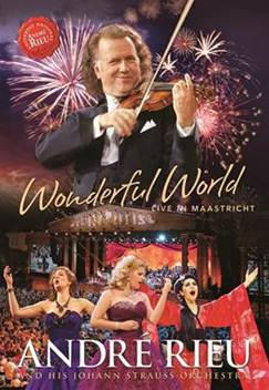 CD Shop - RIEU ANDRE WONDERFUL WORLD - LIVE IN MAASTRICHT