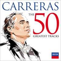 CD Shop - CARRERAS JOSE 50 GREATEST TRACKS