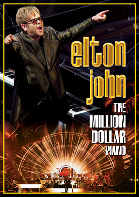 CD Shop - JOHN ELTON THE MILLION DOLLAR PIANO