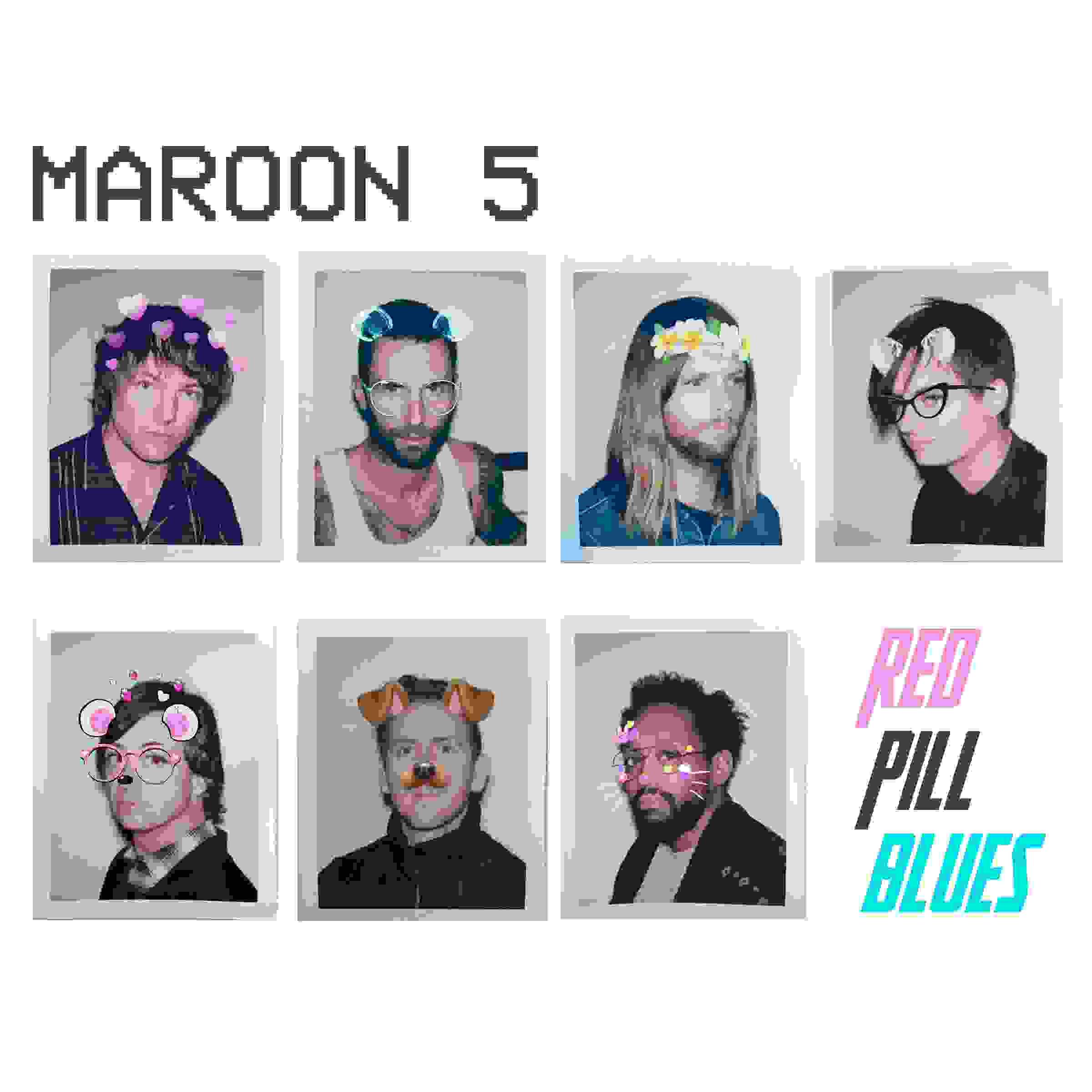 CD Shop - MAROON 5 RED PILL BLUES